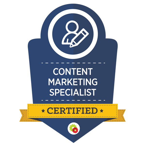 content marketting badge